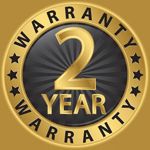 Bach hearing aids 2-year warranty icon.