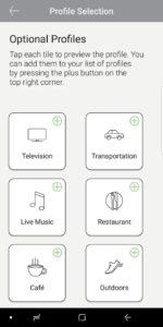 Bach Hearing aid Remote control App 3