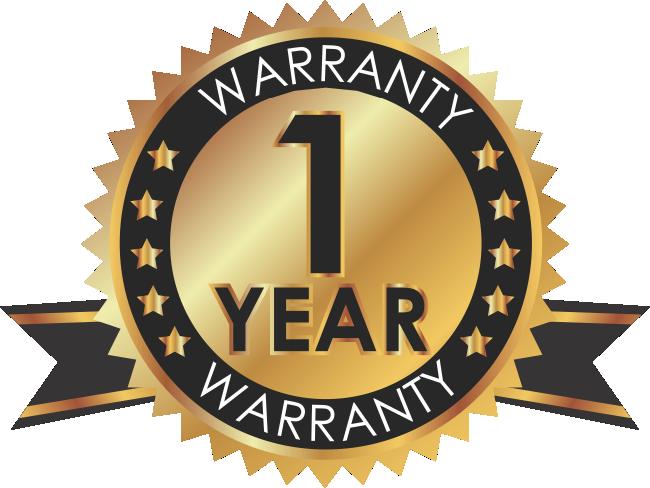 Bach One Year hearing aid warranty